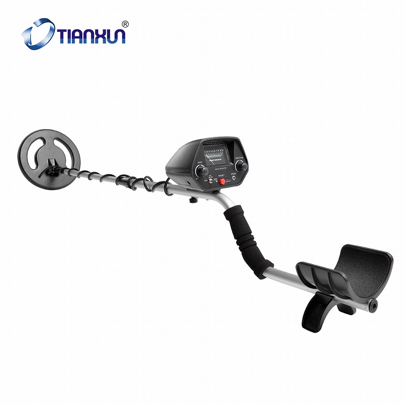 Black MD-3020 Hobby Upgraded Metal Detecting Machines Detector For Gold Treasure Hunting