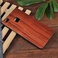 Caso para huawei p9 lite caja de palo de rosa de madera de bambú del teléfono caso para huawei p9 lite cubierta de la naturaleza de madera de nogal + pc trasera dura Shell