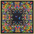 "New Woman's Silk Scarf 51"" 130cm Kerchief Bird Pattern Hot Sale Silk Twill Shawl High Quality Autumn and Winter PR168314"