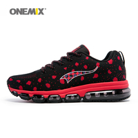 Onemix Men S Running Shoes Women Sports Sneakers Elastic Breathable Mesh Vamp Durable Rubber Sole For