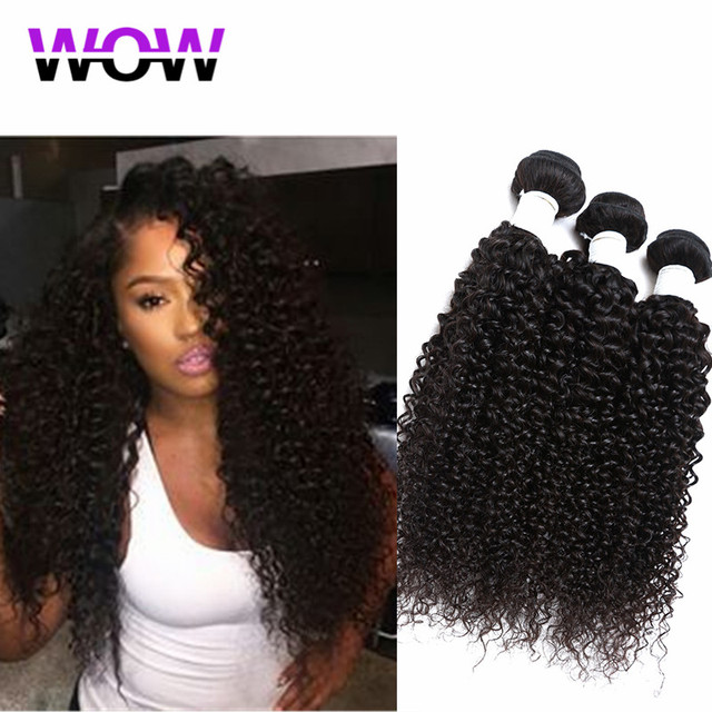 49c3f597b Curly Virgin Hair Bundles Deals Brazilian 3pcs Lot Mink Human Weave
