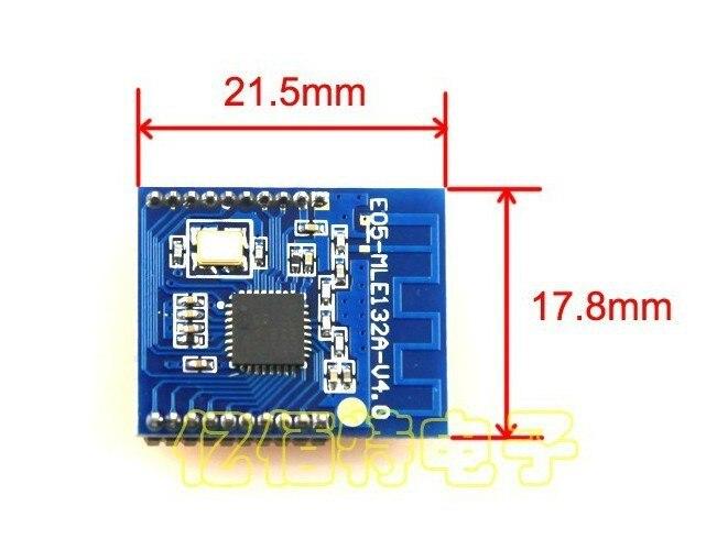 Freeshipping NRF24LE1 digital module nRF24L01 wireless module MCU freeshipping rs232 to zigbee wireless module 1 6km cc2530 chip