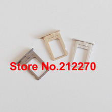 YUYOND Original New Sim Card Tray Holder Slot Replacement Part for iPhone 5S
