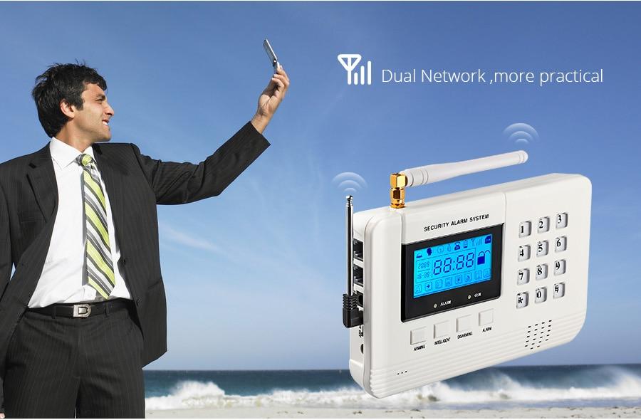 PSTN GSM alarm system