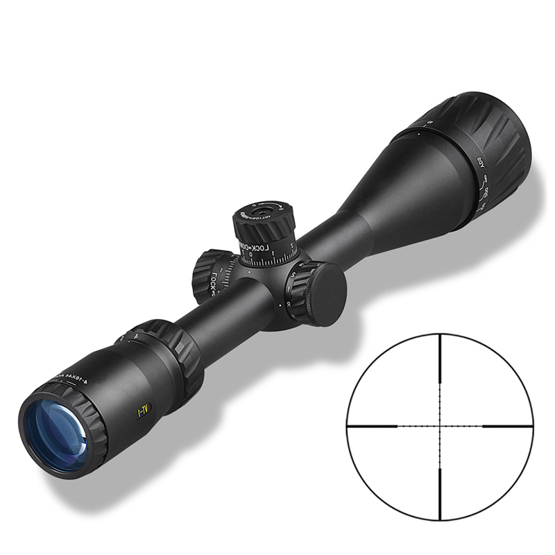 Image 3 - DDartsGO 4 16X44AOE Outdoor Hunting Riflescope Mil Dot Illuminated Reticle Tactical Optical Sights With Sunshade-in Riflescopes from Sports & Entertainment