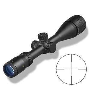 Image 3 - DDartsGO 4 16X44AOE luneta polowa na zewnątrz Mil Dot podświetlana siatka taktyczna celownik optyczny z parasolem