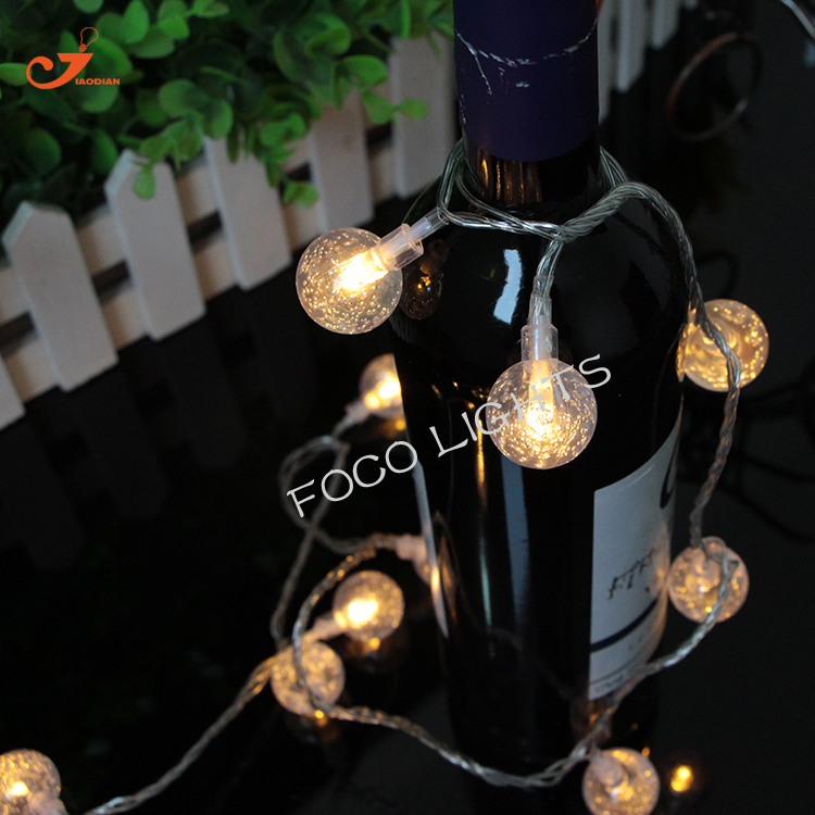 10LED Ball String Light Warm White Global Home Decoration XMAS Patio  Lantern Lights Garland Holiday Lighting Wedding Decorative In Holiday  Lighting From ...