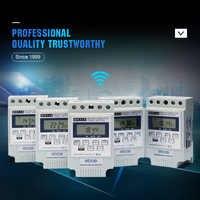 OBO mooie verschijning 220V digitale wekelijkse timer wit timer schakelaar met 10 keer op/uit per dag tijd set bereik 1 min-168 H