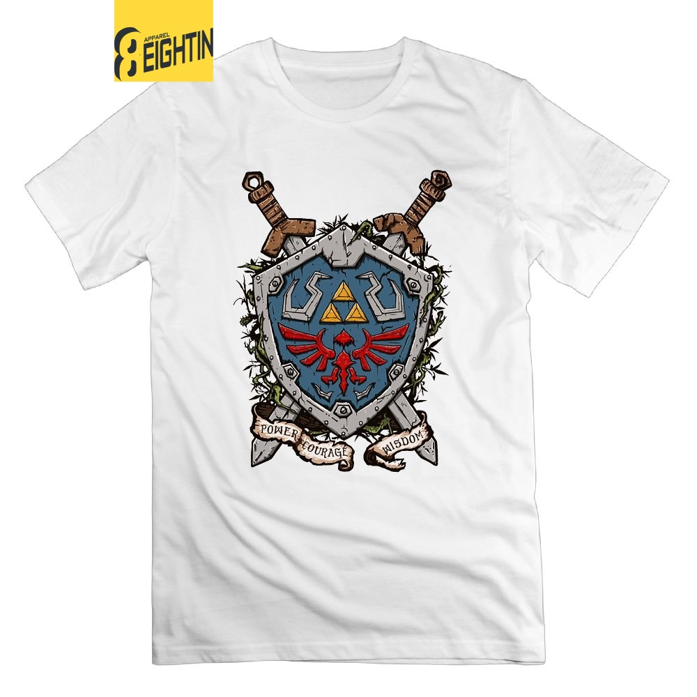 T-shirts Tops & Tees Helpful Zelda Wisdom Cotton Fashion 2019 Trend T-shirt The Hottest T-shirt In The World Discounts Sale