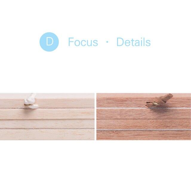 Online Shop A4 Magnetic Wooden Picture Frames Black White DIY ...