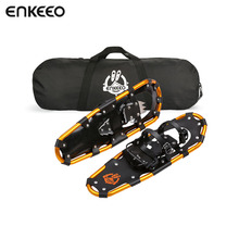 Sports Entertainment - Camping  - Enkeeo 18/21/25/30 Inches Terrain Snowshoes Aluminum Alloy Adjustable Retchet Bindings Crampons Snow Non-slip Walking Shoes Boot