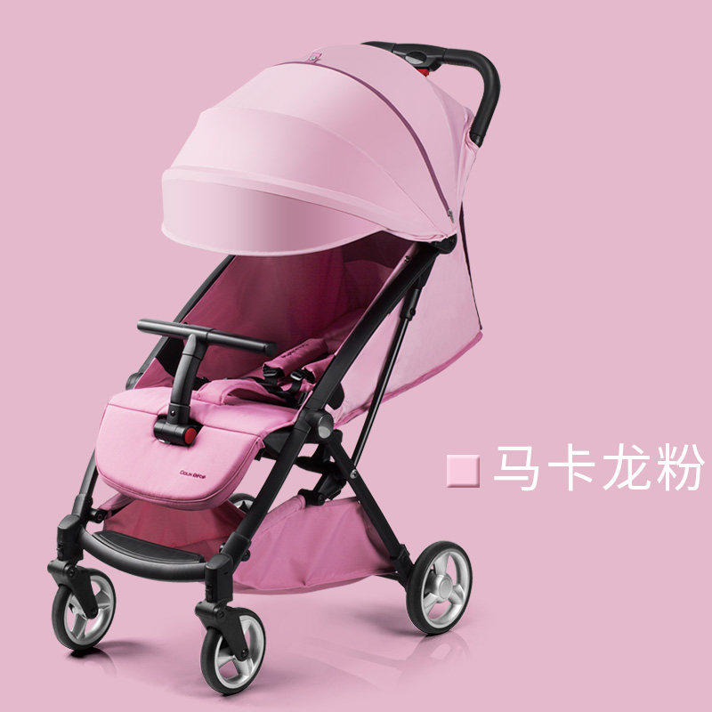 Lightweight stroller baby umbrella can sit and lay portable foldable high landscape strollerLightweight stroller baby umbrella can sit and lay portable foldable high landscape stroller