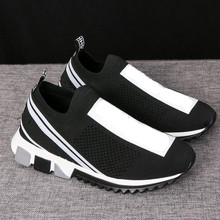 a458407f699bb OLOMLB Fashion Sneakers Women Shoes Trainers Platform White Sneakers Mesh Ladies  Casual Couple Shoes zapatillas de