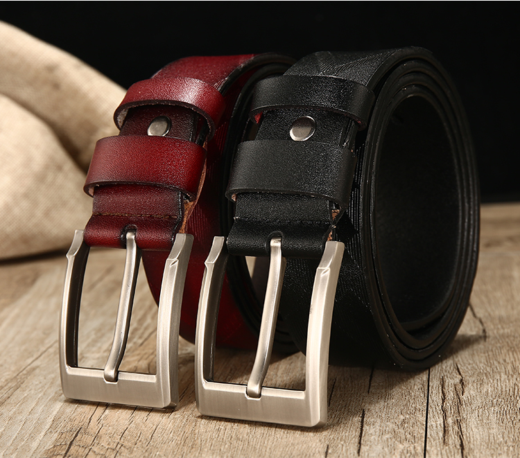leather belt men cow