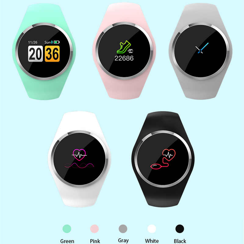 Smart Horloge Mannen Vrouwen Armband Bloeddrukmeter Fitness Armband Polsband Voor Android Ios Pk Xiaomi Mi Band 2 3 4 fitbits