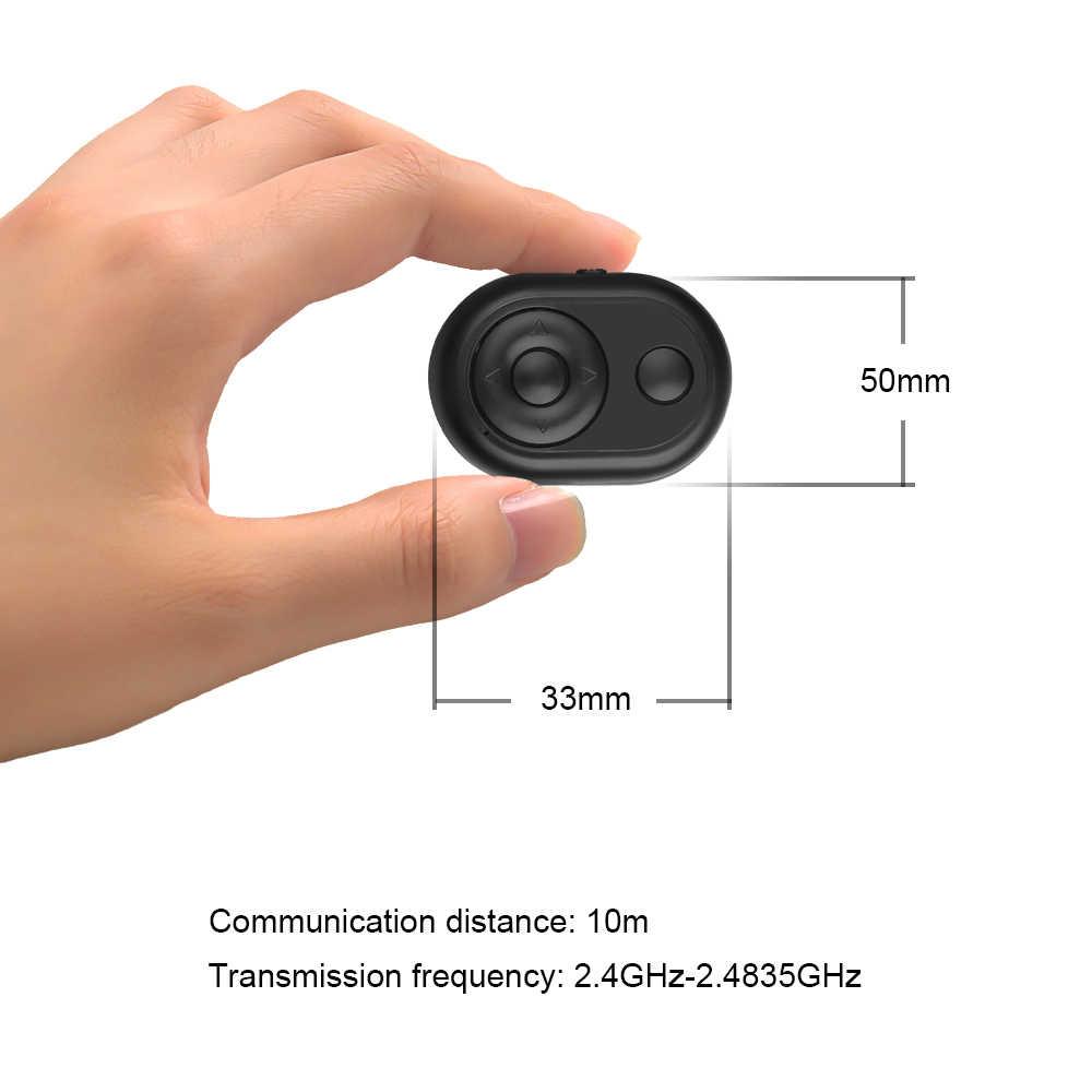 Kebidu 2 Warna Nirkabel Bluetooth Self-Timer Rana Rilis Kamera Remote Controller untuk iPhone untuk Smart Ponsel Android