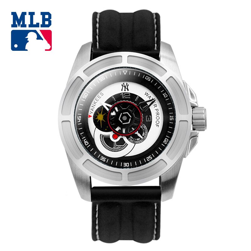 MLB FX series fashion sport  wristwatch  water resistant quartz watch silicone  strap  men watches MLB-FX002 buff sport series water 2 gloves