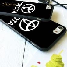Toyota Car Logo Phone Case iPhone 5 5s 6 6s Plus 7 7 Plus 8 X