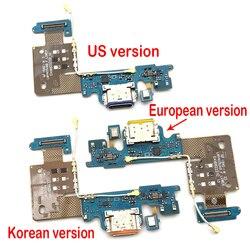 Mới Cổng USB Sạc Dock Cắm Cổng Kết Nối Bo Mạch Sạc Cáp Mềm Mic Micro Ban Cho LG V40 Thinq V405QA7 UA tab UA0