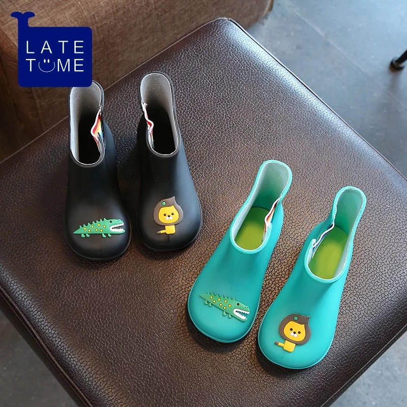 Dwayne nowe antypoślizgowe ciepłe buty kreskówka lew krokodyl - Obuwie dziecięce - Zdjęcie 3