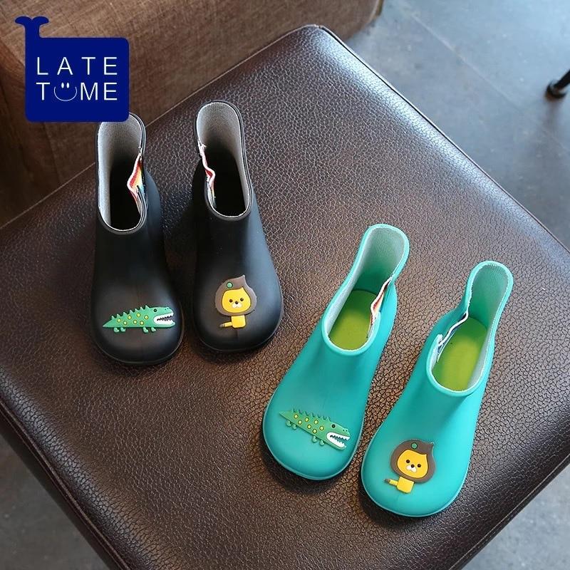 Dwayne nieuwe antislip warme laarzen cartoon leeuw krokodil kinderen - Kinderschoenen - Foto 3
