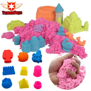 Slime Dynamic Space Sand Slime Magic Play Sand Slime Fluffy 100g/Bag Educational Colored Dynamic Sand Indoor Arena Slime Toys(China)