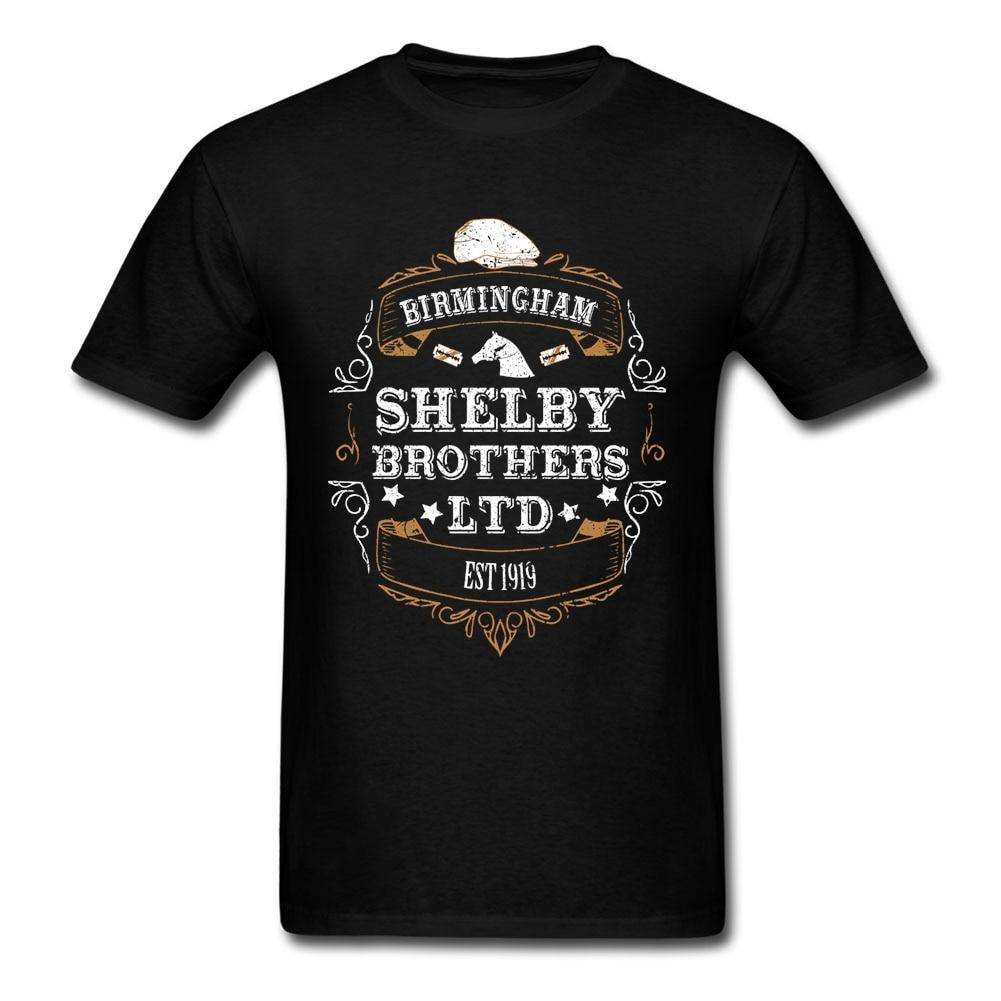 Peaky Blinders   T     Shirt   Short Sleeve Men's Clothes Pop Team Cotton Crewneck Plus Size TV 3d   T     Shirts