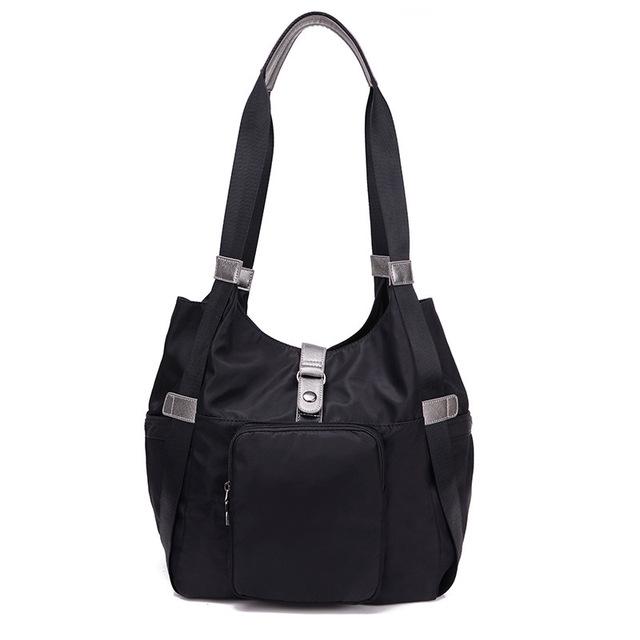Fabra novas bolsas das senhoras moda mulheres negras sacos de ombro à prova d' água sacos de alta qualidade mulheres tote hobo saco do mensageiro ocasional