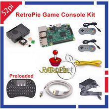 Raspberry Pi 3 Model B 32 GB Raspberry Pi 3 Complete Kit Snes Full Sets for Raspberry pi 3 Work Perfect and Free Shipping(China)
