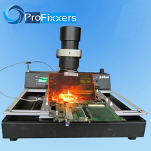PUHUI T870A BGA IRDA Kızılötesi Elektrik Rework Istasyonu Lehimleme Kaynakçı 35 50mm CSP LGA QFP PLCC BGA Topu rework 110 V veya 220 V