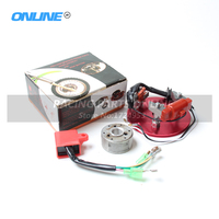 High Performance Racing HP Magneto Coil Stator for 50cc 125cc Dirt Pit Bike ATV Horizontal Engines Thumpstar Parts Free Shpping