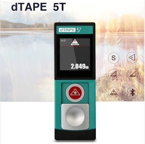 20M Touch screen laser distance meter with bluetooth laser Range finder
