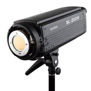 Image 2 - Lâmpada de led godox SL 200W 200ws 5600k, sem fio, para estúdio, fotografia contínua, lâmpada de vídeo com controle remoto