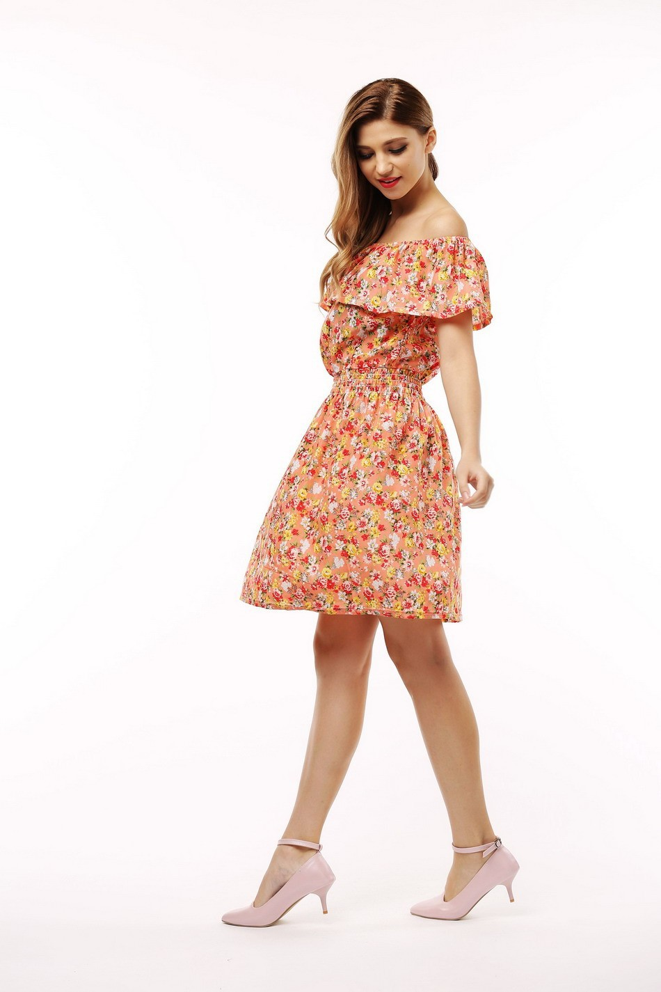 Fashion Floral Print Summer Dresses - Fashion Trendy Shop