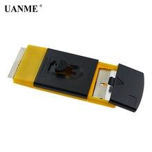 UANME ICE Scraper Spatula Razor Sticker Glue Remover with Charging Blade Scrape Position Easy Change