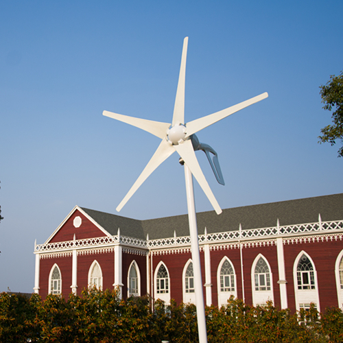 Horizontal wind turbine 400W. 12V/24V optional. Combine with wind/solar hybird controller(LCD display).