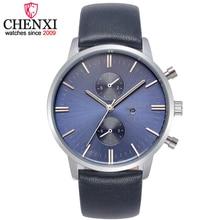 CHENXI Montres Hommes De Luxe Top Marque Nouveaux hommes de Mode Grand Designer Dial Quartz Montre Homme Montre-Bracelet relogio masculino relojes