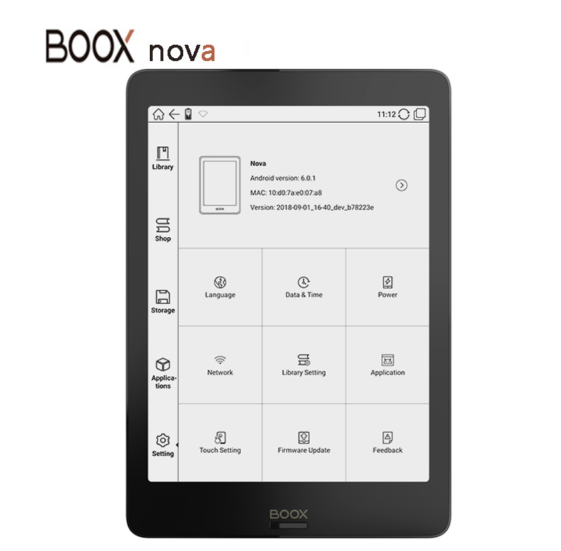 NEW Model BOOX NOVA 7 8 Ebook Reader Dual Color Frontlight UItra HD Ereader 2G 32GB