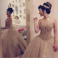 Пункт 15 anos vestidos sweet 16 день рождения бальные платья шампанское пышное платье роскошные кристаллы девушка дебютантка 15 лет платье