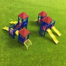 Gy17 2 conjuntos modelo trem trem ferroviário playground equipamento modelo trem 1:150 1:100 n tt escala recreação modelagem ferroviária