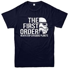 Star Wars Storm Trooper T-Shirt, The First Order Exploding Planets Tee Top Free shipping  Harajuku Tops Fashion Classic pre order resin toys 35042 the last order vol 2 volkssturm germany 1945 free shipping