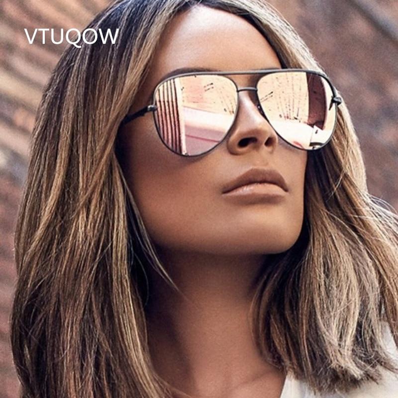 b0bfada3c Nova Chegada Piloto Óculos De Sol Das Mulheres Marca Designer 2019 Óculos  De Sol Piloto Do