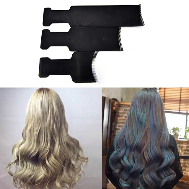 1pc For Hairdresser Salon Hair Coloring Comb Plate Hairdressing Tint