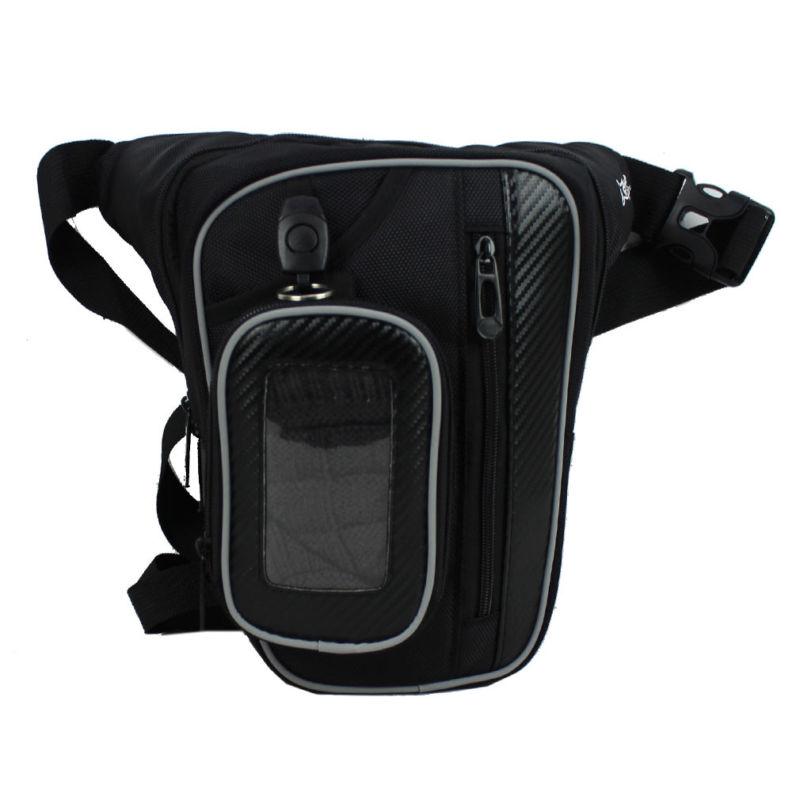 все цены на Men Oxford Waterproof Drop Leg Bag Thigh Belt Hip Bum Military Tactical for Travel Motorcycle Riding Hiking Fanny Pack Waist онлайн