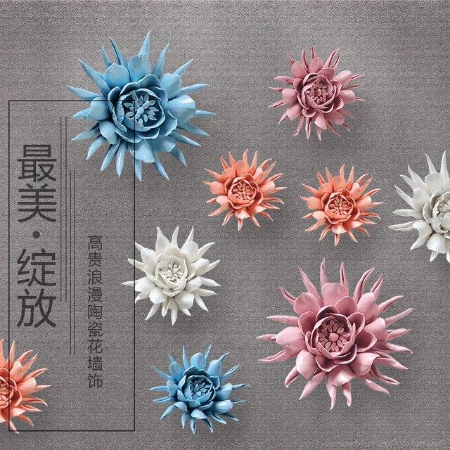 Epiphyllum декоративные настенные цветок блюдо фарфоровая декоративная тарелка старинные домашнего декора ремесленных Craft Room украшения фигурка