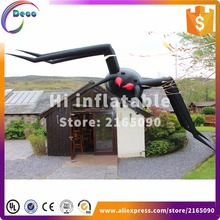 6m wide halloween inflatable yard decoration inflatable spider model - Halloween Inflatable Yard Decorations
