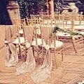 10 Unidades Espumoso Cubierta de Lentejuelas Decoración de La Boda marco de la Silla Marcos de la Silla del Banquete De Boda Lugar Decoración Elegante Champagne