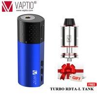 Hot items Electronic cigarette Vaptio VEX100 Box Mod Vaper Vapor 510 Thread Vape Mod Powered By 21700/20700/18650 Battery