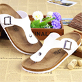 Shoes Women Summer Fashion Cork Lovers Slippers Designer Flip Flops Men Woman Beach Slippers Flats Male Slides
