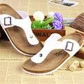 Zapatos de Las Mujeres de Moda de Verano Los Amantes de Corcho Zapatillas Flip Flop Diseñador Mujer de Los Hombres de la Playa Zapatillas de Pisos Hombre Diapositivas
